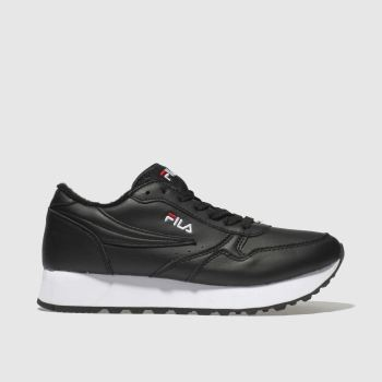 Fila Black Orbit Zeppa L Womens Trainers