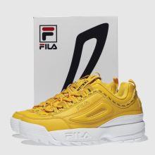 fila disruptor 2 premium repeat yellow