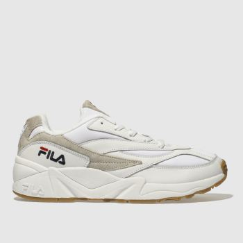 FILA WHITE VENOM LOW TRAINERS