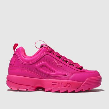 fila pink disruptor ii premium trainers