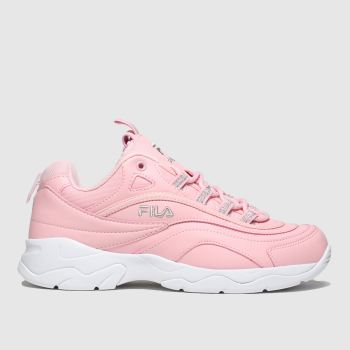 Fila Pink Ray Trainers