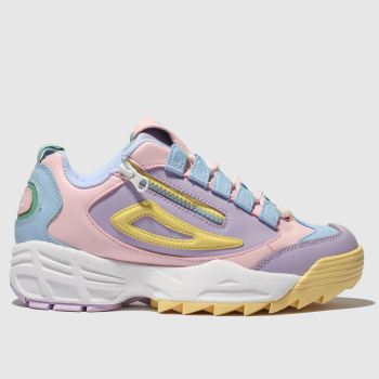 Fila Multi Disruptor 3 Zip Womens Trainers