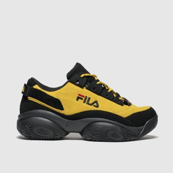 Fila Yellow Provenance Womens Trainers