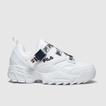 Fila White Fast Charge Womens Trainers