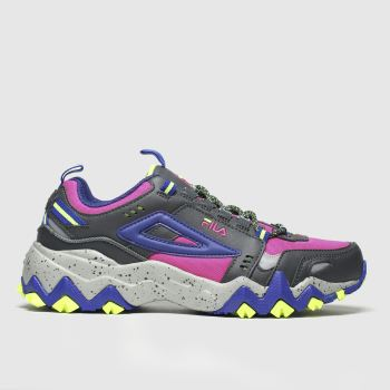 Fila Black & pink Oakmont Trail Womens Trainers