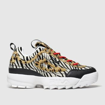 Fila Multi Disruptor Ii Animal Womens Trainers