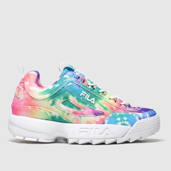 Fila Multi Disruptor Ii Tie Dye c2namevalue::Womens Trainers