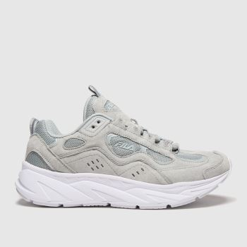 Fila Grey Trigate Chalk Womens Trainers