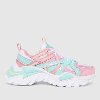 Fila Pink Electrove 2 Womens Trainers