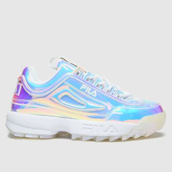 Fila Multi Disruptor Ii Iri Womens Trainers