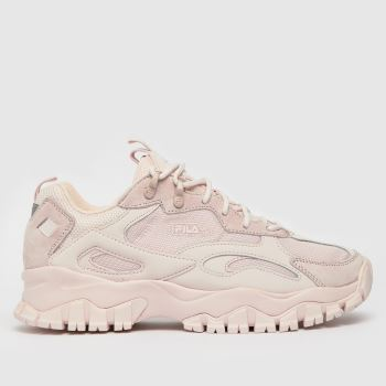 Fila Pale Pink Ray Tracer Tr2 Womens Trainers