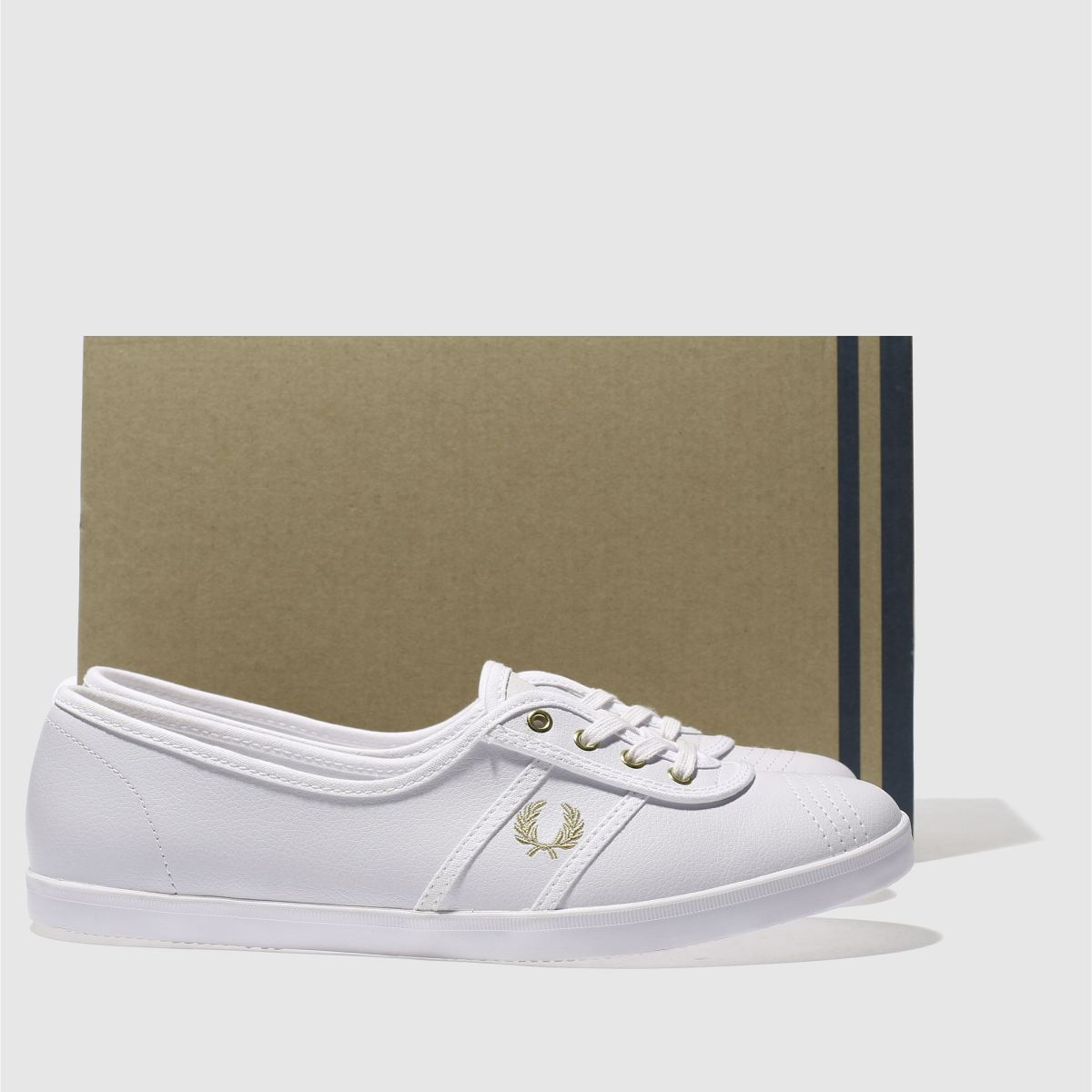 Damen Sneaker Weiß-gold fred perry Aubrey Sneaker Damen | schuh Gute Qualität beliebte Schuhe 5d479e