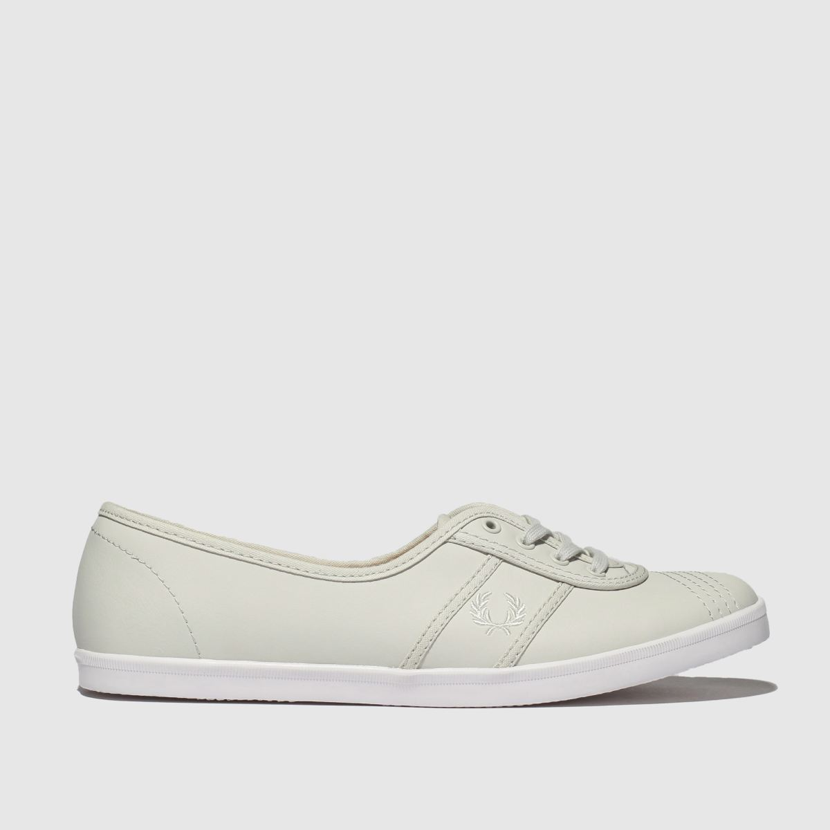 Fred Perry Grey Aubrey Trainers