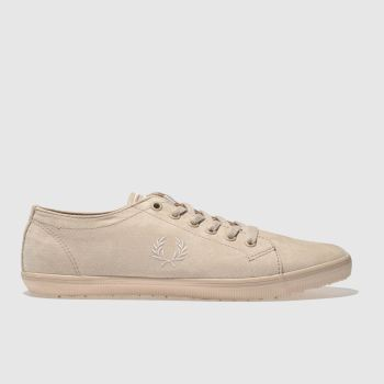 Fred Perry Pink Kingston Microfibre Womens Trainers