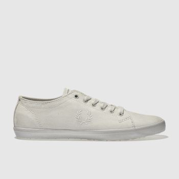 Fred Perry Grey Kingston Microfibre Womens Trainers
