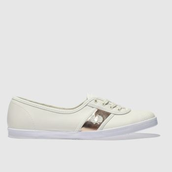 Fred Perry Stone Aubrey Leather Womens Trainers