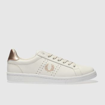 Fred Perry Stone B721 Leather Womens Trainers