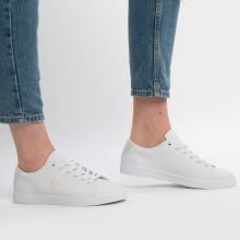 Fred Perry lottie leather 1