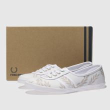 Fred Perry aubrey printed leather 1