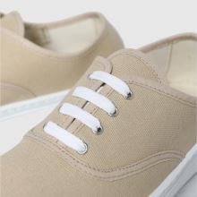 schuh Miracle Canvas Flatform Lace 1