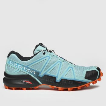 salomon turquoise speedcross 4 trainers