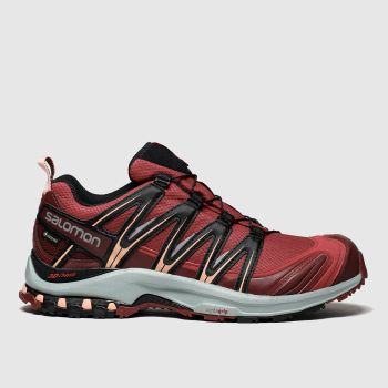 Salomon Red Xa Pro 3d Gtx Womens Trainers
