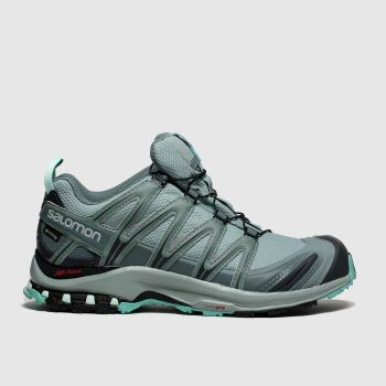 Salomon Light Grey Xa Pro 3D Gtx Womens Trainers