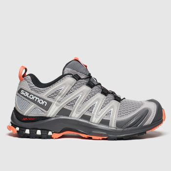 Salomon Light Grey Xa Pro 3d W Womens Trainers