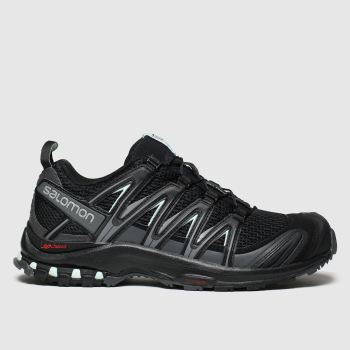 Salomon Black Xa Pro 3d W Womens Trainers from Schuh