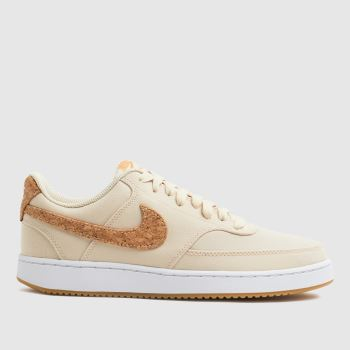 Nike Natural Court Vision Low Trainers