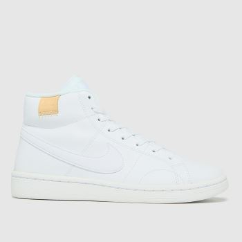 Nike White Court Royale 2 Mid Womens Trainers