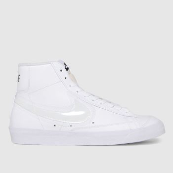 Nike White Blazer Mid 77 Womens Trainers