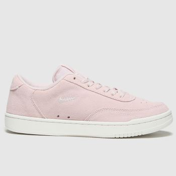 Nike Pale Pink Court Vintage Premium Womens Trainers