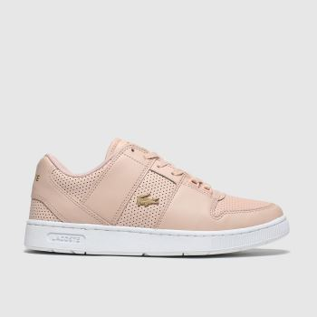 Lacoste Pale Pink Thrill Womens Trainers