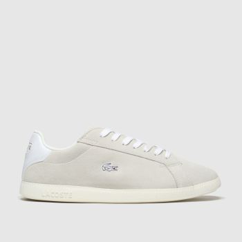Lacoste Light Grey Graduate Womens Trainers