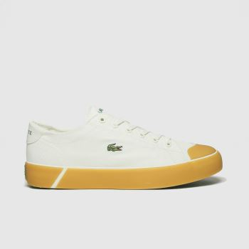 Lacoste White Gripshot Womens Trainers#