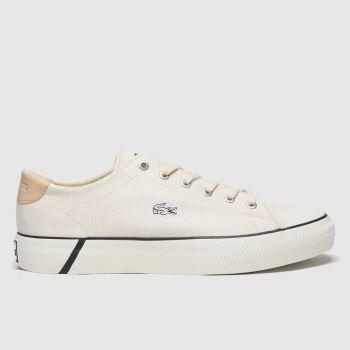 Lacoste Natural Gripshot Womens Trainers