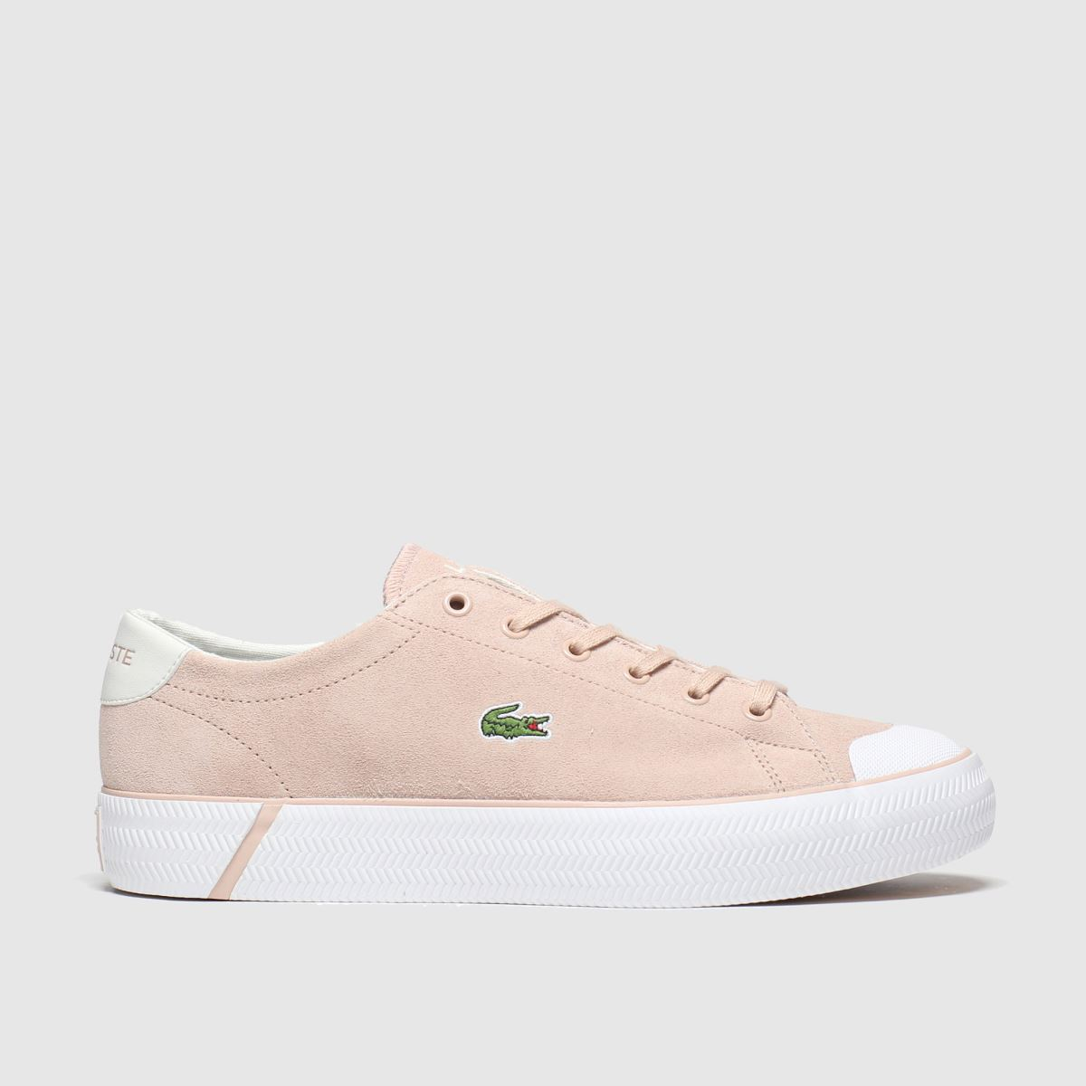 Lacoste Pink Gripshot Trainers