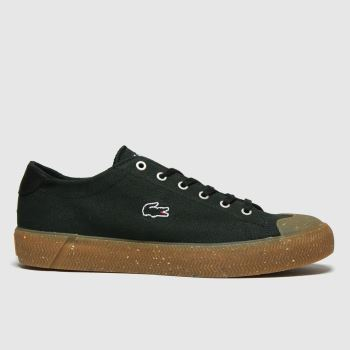 Lacoste Black & Brown Gripshot Womens Trainers