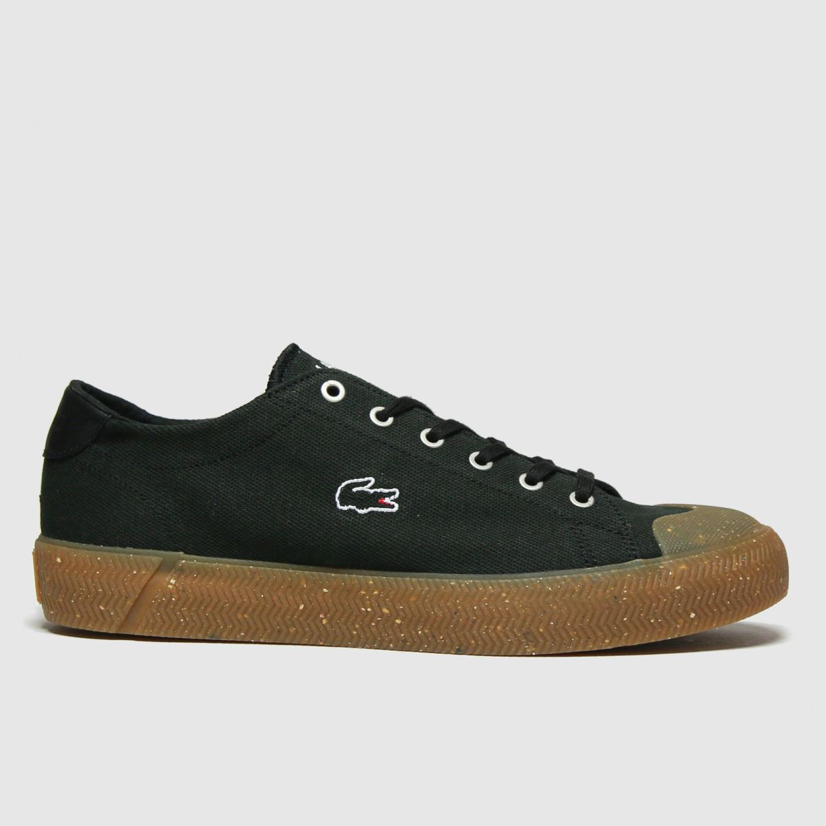Lacoste Black & Brown Gripshot Trainers