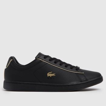 Lacoste Black Carnaby Evo Womens Trainers