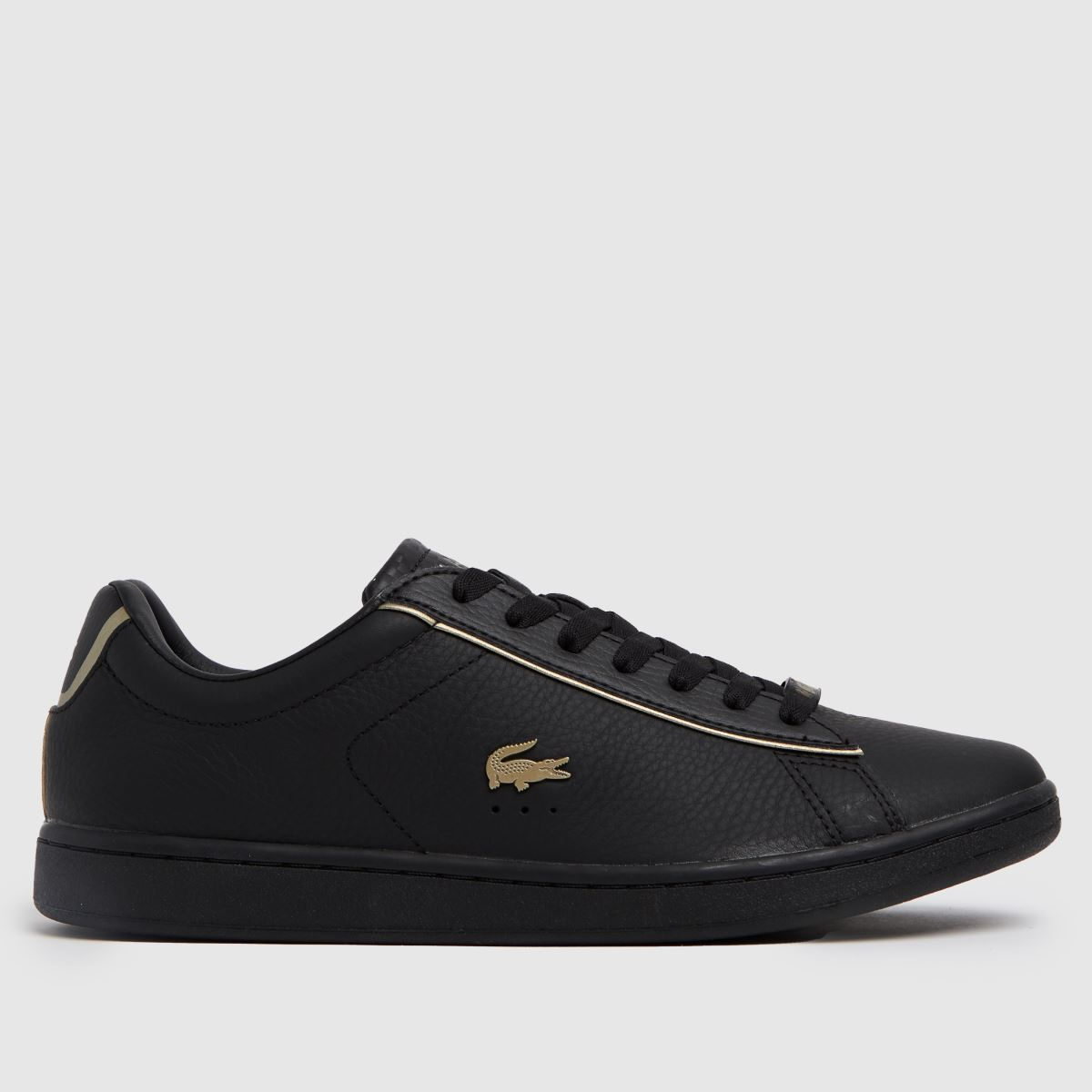 Lacoste Black Carnaby Evo Trainers