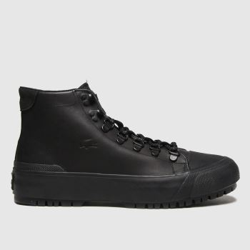 Lacoste Black Gripshot Womens Trainers