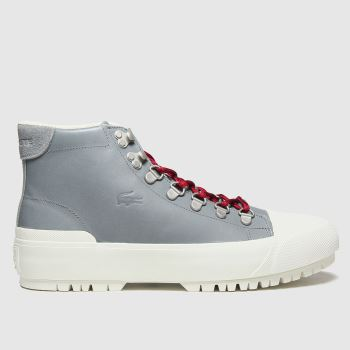Lacoste Grey Gripshot Womens Trainers