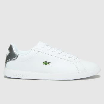 Lacoste White Graduate 120 Womens Trainers