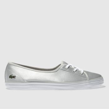 Lacoste Light Grey Ziane Chunky Womens Trainers