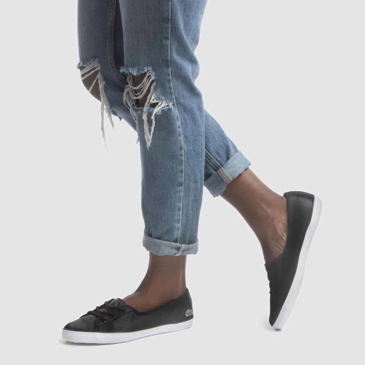 Damen Schwarz Gute lacoste Ziane Chunky Sneaker | schuh Gute Schwarz Qualität beliebte Schuhe 4fde05