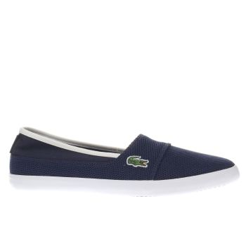 d81360254 womens navy   white lacoste marice trainers