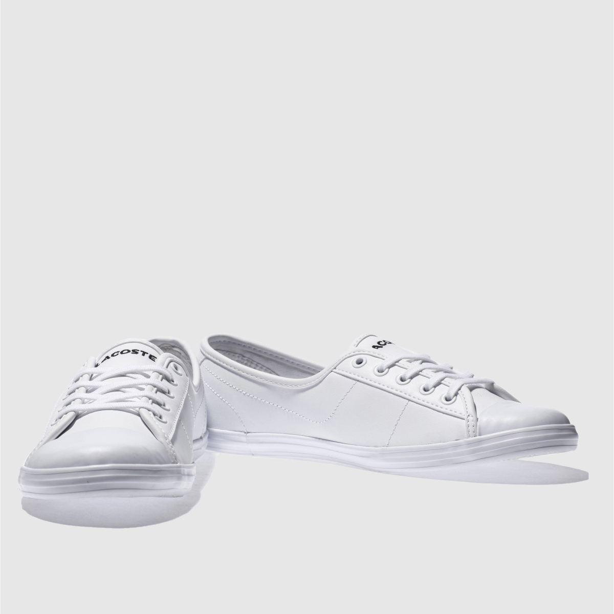 Damen Weiß lacoste Ziane Sneaker | schuh Gute Qualität beliebte Schuhe