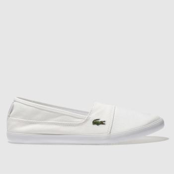 Lacoste White Marice 217 Womens Trainers